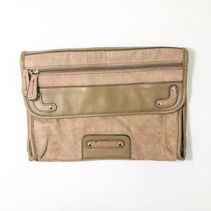 Handbags - 🛒 Tan Large Clutch